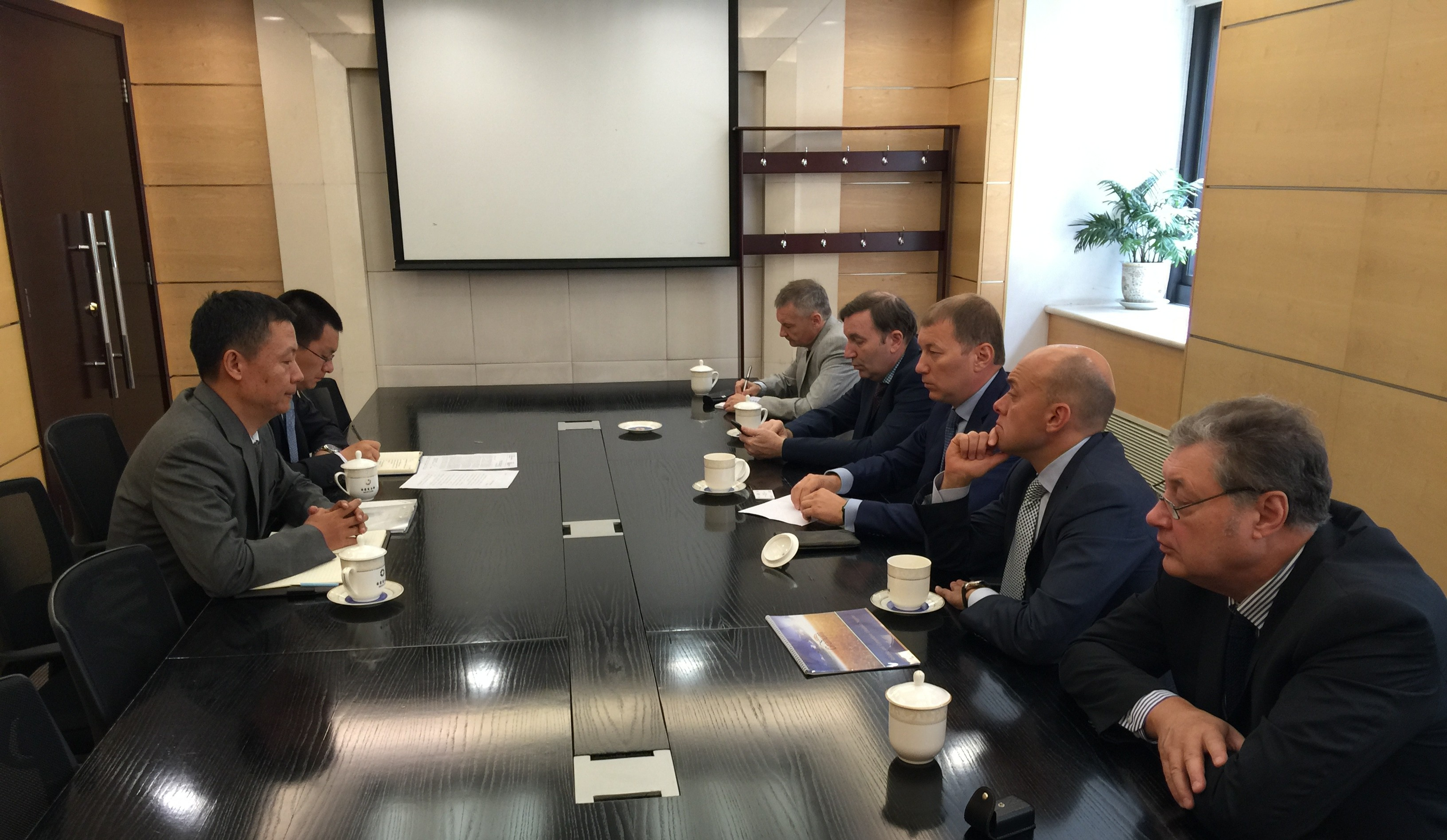 The delegation of the Ukrainian part of Joint Ukrainian-Chinese Business Council visited the PRC