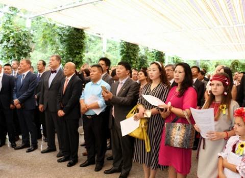 Делегація Українсько-Китайської Ділової ради відзначила День Незалежності разом з українською громадою Пекіна 2