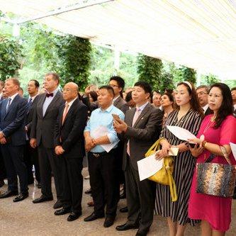 Делегація Українсько-Китайської Ділової ради відзначила  День Незалежності разом з українською громадою Пекіна
